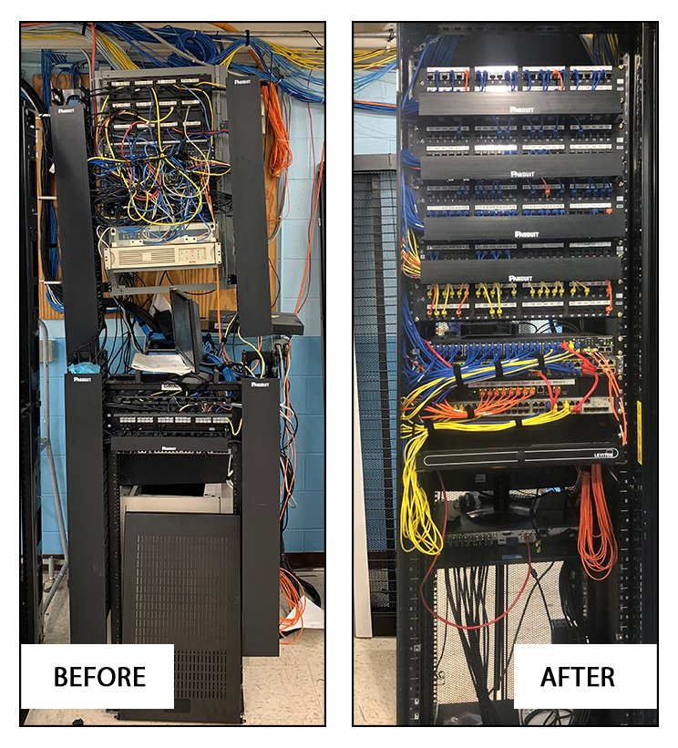 Structured cabling in Rockford, IL
