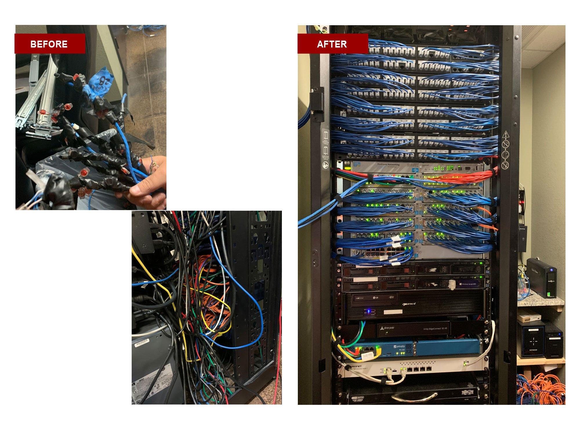 NTI proper wiring cleanup